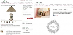 MAXWELL'S A FEATURED VINTAGE & DESIGNER PICK ON FLORALS!