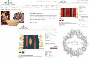 MAXWELL'S A FEATURED VINTAGE & DESIGNER PICK