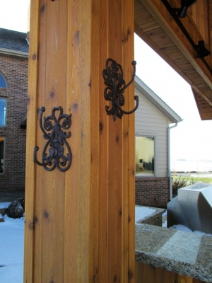 POOL HOUSE HARDWARE from MAXWELL'S 9.13.34